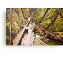 Harpist of the Valley Canvas Print