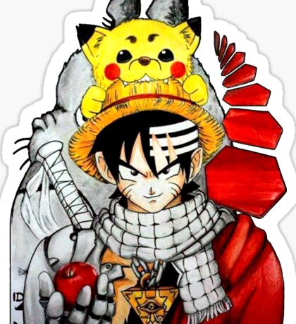 Childhood Anime Sticker