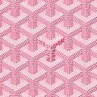goyard pink logo by ToniLampadaire