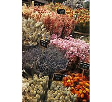 Flower Market Photographic Print