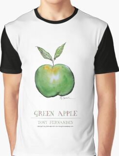 Green Apple, tony fernandes Graphic T-Shirt