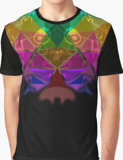 Simmetric abstract Graphic T-Shirt