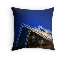Double the Landmark Throw Pillow