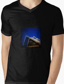 Double the Landmark Mens V-Neck T-Shirt