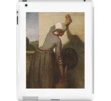 Girl at the Fountain , William Morris Hunt iPad Case/Skin