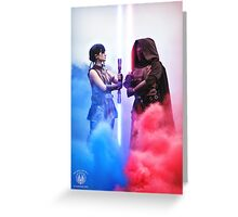 Face Off - Star Wars The Old Republic Greeting Card