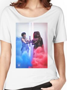 Face Off - Star Wars The Old Republic Women's Relaxed Fit T-Shirt