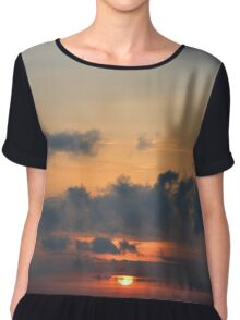 Sunrise in Uganda Chiffon Top