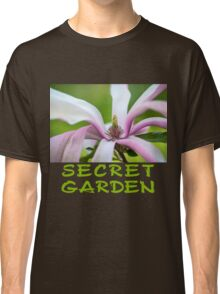 Magnolia Flower Abstract Classic T-Shirt