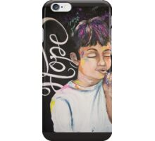 Breathe in the Hope, Exhale the Circumstances iPhone Case/Skin