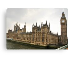 Parliament Canvas Print