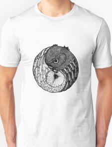 Yin Yang Owls Unisex T-Shirt