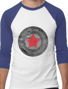 Winter Solider Shield Men's Baseball ¾ T-Shirt