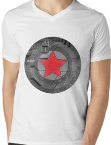 Winter Solider Shield Mens V-Neck T-Shirt