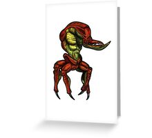Oddworld: Scrab (Digital Drawing) Greeting Card