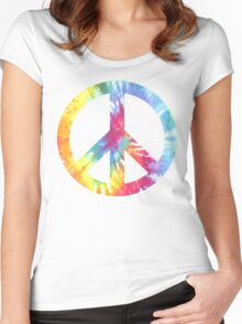 Peacecore - ONE:Print Women's Fitted Scoop T-Shirt