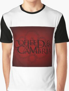 HOT COHEED & CAMBRIA  FONT LOGO BLACK Graphic T-Shirt