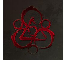 HOT COHEED & CAMBRIA  RED SYMBOL Photographic Print