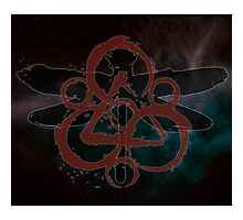 HOT COHEED & CAMBRIA  RED SYMBOL MOSQUITO Photographic Print