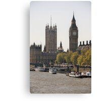 Thames View Canvas Print