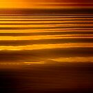 Sunset wave patterns, San Feliciano, Lago Trasimeno, Umbria by Andrew Jones