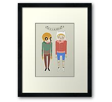 Adventure Time! Framed Print