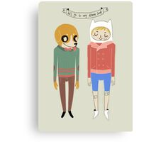 Adventure Time! Canvas Print