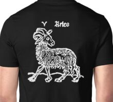 Astrology, ARIES, The Ram, Signs of the Zodiac, Birth Star, Horoscope, Birth Sign Unisex T-Shirt