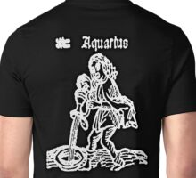 AQUARIUS, The Water Bearer,  Astrology, ZODIAC, Signs of the Zodiac, Birth Star, Horoscope, Birth Sign Unisex T-Shirt