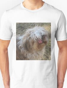 shih tzu tongue out 2.0 Unisex T-Shirt