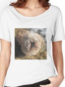 shih tzu lovely Women's Relaxed Fit T-Shirt