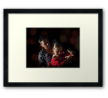 Art, Passion and Tradition Framed Print