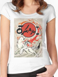 Classic Okami Women's Fitted Scoop T-Shirt