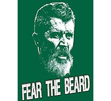 Roy Keane: Fear The Beard Photographic Print
