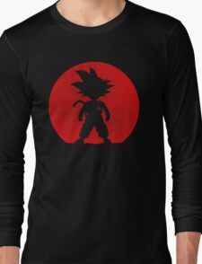Shadow of Saiyan Long Sleeve T-Shirt