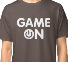 Game On power button Classic T-Shirt