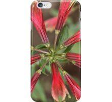 Tick-tock, it's flower o'clock iPhone Case/Skin