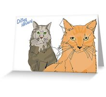 Dilly & Howard (@breezer74) Greeting Card