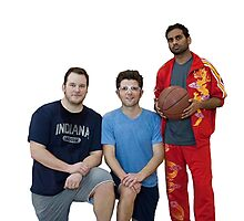 Parks and Rec- Basketball Team Photographic Print