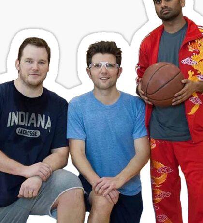 Parks and Rec- Basketball Team Sticker