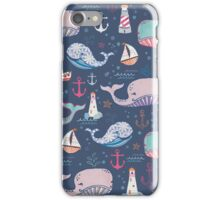 Whale Toss iPhone Case/Skin