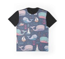 Whale Toss Graphic T-Shirt