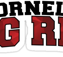 Cornell University Big Red Sticker
