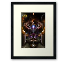 The Violet Pearl Of Xzylian Framed Print