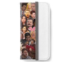 Parks and Recreation Collage iPhone Wallet/Case/Skin
