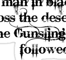 Dark Tower- Gunslinger Sticker