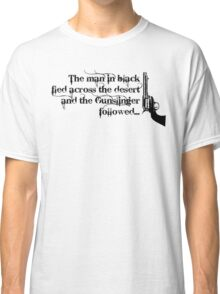Dark Tower- Gunslinger Classic T-Shirt
