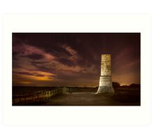 Defence tower against Arabs Art Print