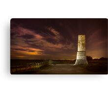 Defence tower against Arabs Canvas Print