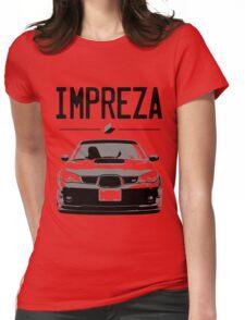 'Subaru Impreza' T-Shirt calling all Subaru Fans Womens Fitted T-Shirt